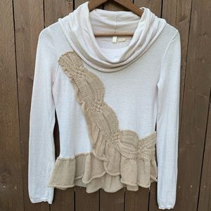 Moth | Size XS Cowl Neck Top